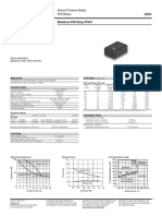 ENG DS PCD PCDF Series Relay Data Sheet E 0411