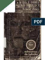 Ernest Jones Vida y Obra de Sigmund Freud - Tomo III