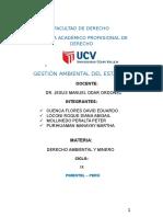 Monografia Gestion y Politica Ambiental