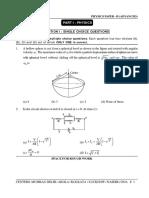 Physics Paper - II