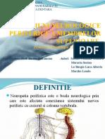 Afectiuni Neurologice Periferice a Membrelor Superioare