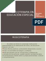Musicoterapia en la Educ. Especial