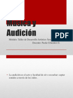 Música y Audición