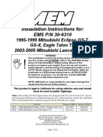 AEM 30-6310 Manual