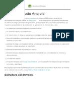 Conocer Android Estudio