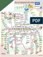 Mapa PDF Metro de Munich