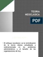 TEORIA NEOCLÁSICA