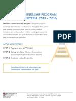 program checklist