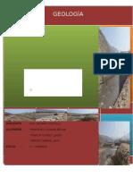 Informe de Geologia VOLCAN