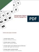 Variantes tipográficas