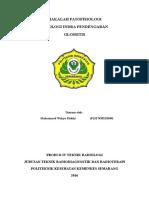 MAKALAH PATOFISIOLOGI GLOSSITIS (patologi indera pengecap)