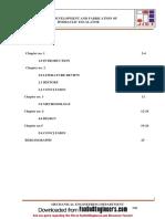 Hydraulic Escalator Project Report Final