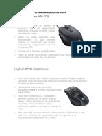 Lista de Mouse de Ultima Generacion en Stock