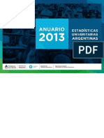 Anuario_2013 Sistema Universitario Argentino