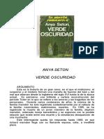 Seton, Anya - Verde Oscuridad