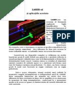 Proiect fizica laser