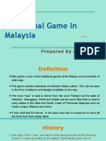 Wau Traditional Game in Malaysia