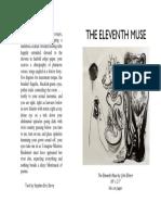 the eleventh muse broadside