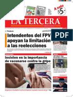 Diario La Tercera 26.05.2016