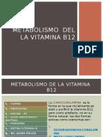 METABOLISMO  DEL LA VITAMINA B12  CLASE.pptx