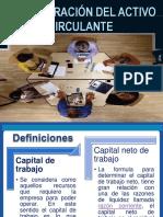 Administración de Capital de Trabajo