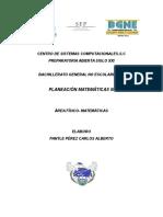 Matematicas III Bachillerato, Parte 1