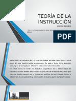 Teoría de La Instrucción