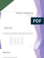 Matriz Dispersa 2