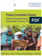 Project Completion Report Silpi Paeen Chapelwood Foundation 2015-2016