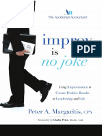 Using Improvisation to Create Positive Results in Leadership & Life