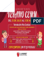 Curso de Verano CEMM 2016
