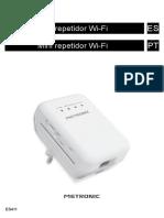 Manual de Mini-Repetidor Wifi Metronic
