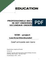 vow leerkrachtenbundel