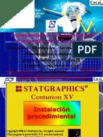 Como Instalar Statgraphics Centurion XV 2008