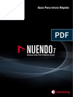 Nuendo 7Quick Start Guide Pt