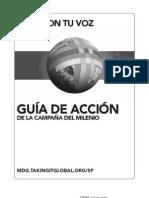 Guía de Acción de la Campaña del Milenio (version B&N)