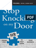 Stop Knocking on My Door