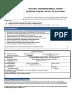 acct checklist11
