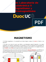 Magnetismo y Electromagnetismo.