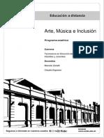Arte, música e inclusión
