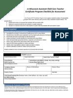 acct checklist113