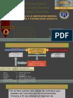 Garantias a La Inversión Minera Extranjera y Estabilidad Juridica