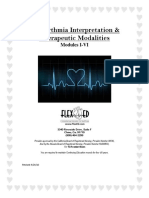 Dysrhythmia Interpretation Modules 1-6 June 2012