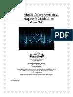 Dysrhythmia Interpretation Modules 1-6 June 2012
