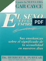 Cayce, Edgar - El Sexo y El Camino Espiritual