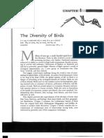 Chapter 1 - Diversity of Birds