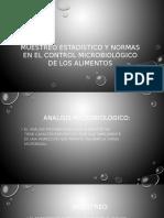 Clase 3. Muestreo Estadístico y Normas en El Control Microbiológico