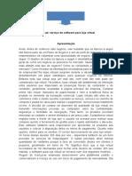 Material Base Para o Grupo - Mercado Virtual (Software Loja Virtual)