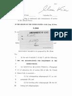 Kirk amendment