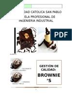BROWNIE - Gestión de la Calidad